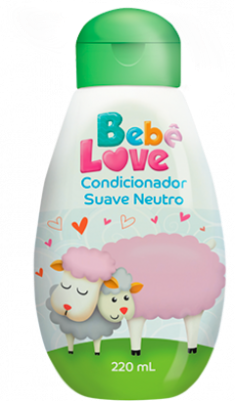 Condicionador Bebê Love Suave Neutro - 220ml